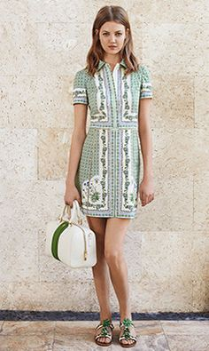 Tory Burch SUMMER 2014 Look 3 #QFClothing
