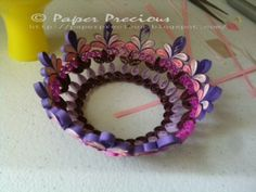 paper quilling 3d flowers - Google Search