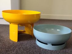 LPG Gas Bottles Bowls from Collected, LOVE!!