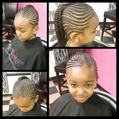 too cute of a girls hairstyle