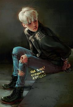 Sehun fanart (THIS IS SO FREAKING GOOD)