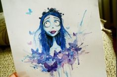 Corpse Bride Tattoo Idea