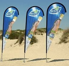 Image result for beachflags