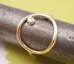 #gold #diamond ring.