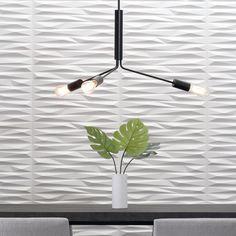 Modern Furnishings | 3D Wall Panels | Dimensional Walls | Split Wall Flats – Inhabit