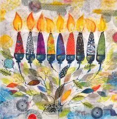 (c) art by tuuli levit, original painting, acrylic on canvas, mixed media Hannukah, Happy Hanukkah, Arte Judaica, Watercolor Paintings, Original Paintings, Symbolic Art, Hanukkah Decorations, Christmas Drawing, Jewish Art