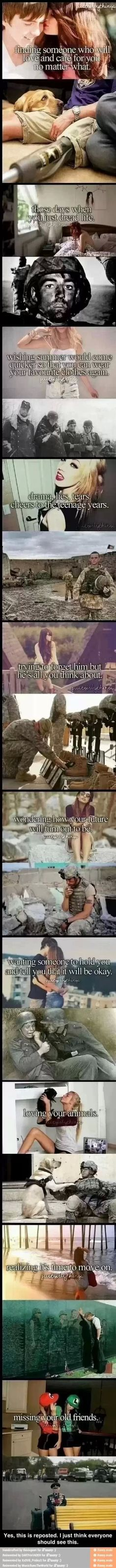 Is this seriously how society acts. What have we become? Thank you to all who protect our country and who protected our country! Happy Veterans Day!