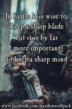 Viking sayings about war