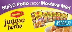 Nuevo Jugoso al Horno Pollo Mostaza Miel  Nestlé Argentina
