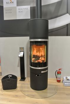 Scan 83 wood burning stove - Cornwall- Wendron Stoves