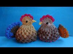 Mesmerizing Crochet an Amigurumi Rabbit Ideas. Lovely Crochet an Amigurumi Rabbit Ideas. Crochet Birds, Easter Crochet, Crochet Flowers, Crochet Amigurumi Free Patterns, Easy Crochet Patterns, Crochet Dolls, Tutorial Crochet, Chicken Pattern, Crochet Chicken