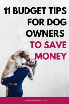 Looking for ways to save money as a dog owner? Check out our top 11 Budget Tips for Dog Owners to Save Money so you can save your money where it matters. Dog Care Tips, Pet Care, Puppy Care, Pet Spa, Easiest Dogs To Train, Dog Safety, Dog Mom, Dog Baby, Dog Training Tips