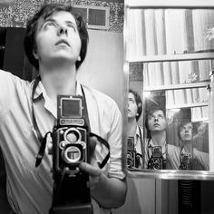 Self Portraits Portfolio: As reclusive and private as Vivian Maier was, her self portrait photographs reveal a telling story. Thoughtfully posed, and often innovative, her self as a subject allows a depiction of her as she wants the world to see it.