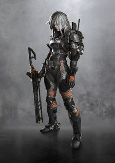 Character Design Sci Fi On Pinterest Cyborgs