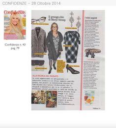 Confidenze del 28 Ottobre parla dei bracciali della collezione #flex www.ibirikini.com - info@ibirikini.com