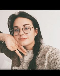 Love her glasses