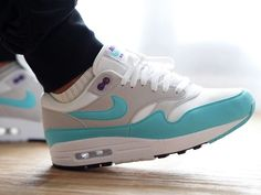 best website 6395b 1e6de Nike Air Max 1 Anniversary  Aqua  - 2017 (by sneakhamddict) Sneakers greatly