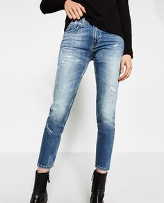 Image 2 of BOYFRIEND JEANS from Zara
