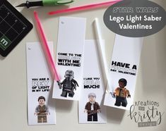 Valentine's Day Star Wars Lego Force by thekreationsbykristy