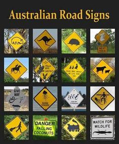 The Best Of The Rest... | 47 Signs You'll Only See In Australia
