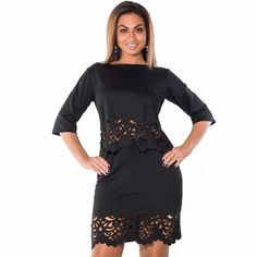 Elegant 2 Piece Set Casual Bodycon Dress