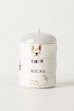 Love this clever Paws & Claws Stackable Candle that can be reused as pet dishes when the candles are gone! | Pin collaboration with @Anthropologie http://www.anthropologie.com/anthro/category/books%20&%20gifts/home-dogs.jsp