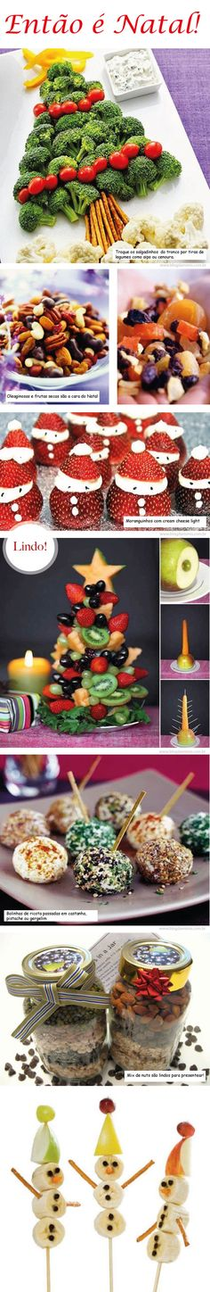DIY Christmas Trees: 30 Most Creative Ever - Hongkiat Christmas Tree Cake, Christmas Party Food, Xmas Food, Christmas Appetizers, Christmas Diy, Holiday Snacks, Holiday Recipes, Cute Snacks, Unique Christmas Decorations