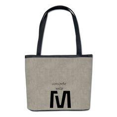 Cool Concrete Fashion Bucket Bag #concrete #fashion