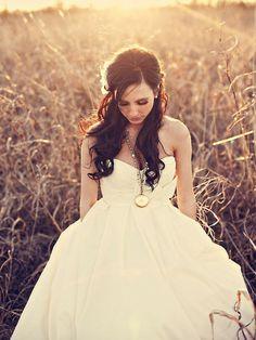 Gorgeous wedding style.