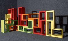 #Libreria UrBAN...  Bellissima e colorata libreria :) Come la trovate?