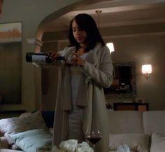 "Olivia's Donna Karen Boiled Cashmere Oversized Cardigan Scandal Season 2, Episode 15: ""Boom Goes the Dynamite"""