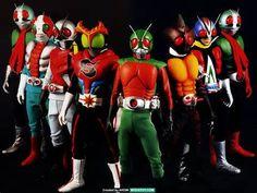 Classic Kamen Riders