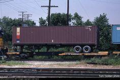 TTFX 60043   Description:    Photo Date:  7/7/1984  Location:  Dolton, IL   Author:  Tom Golden  Categories:  RollingStock