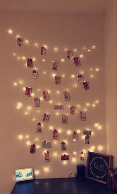 Fairy Lights, Photo Cards, Photo Wall, Bts, Frame, Room, Home Decor, Picture Frame, Bedroom