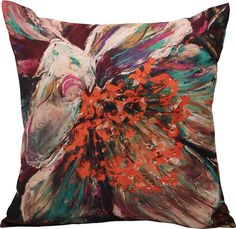 The Galla Bloom Cushion from Urban Barn is a unique home décor item. Urban Barn carries a variety of Cushions & Throws and other  Accents furnishings.