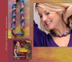 Betsy Beads | Knitting Universe free beaded necklace pattern to download