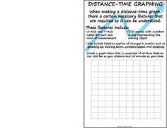 Distance-Time+Graphing+summed+up+onto+one+foldable+page!+Great+for+a+quick+reference.+Folds+in+half+and+fits+onto+a+single+journal+page.+When+students+open+this+guide+up,+there+are+six+distance-time+graphs+that+they+must+create.+This+is+good+for+an+introduction+to+graphing+distance-time+or+even+as+a+review.