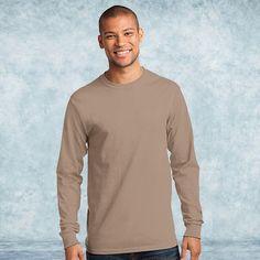 Port & Company - Long Sleeve Essential T-Shirt. PC61LS