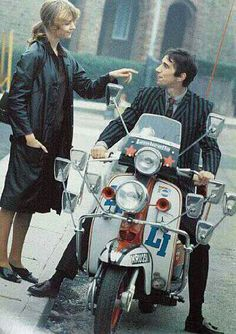 Jimmy's Lambretta scooter from Quadrophenia up for auction A piece of movie history is going through Bonham's auction room later this month - the scooter rode by Jimmy Cooper in the cult mod flick Quadrophenia, Mod Scooter, Lambretta Scooter, Scooter Girl, Ben Sherman, Df Mexico, Mod Girl, Teddy Boys, Motor Scooters, Hippie Man