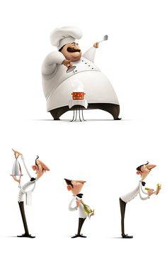 Characters Mix by Jenya Tkach