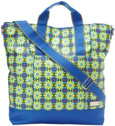 Hadaki French Market Tote,Cobalt Stars,One Size *** You can find out more details at the link of the image.