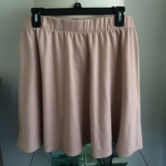Dusty Pink Skater Skirt Make an offer! soft and cute. Formal or casual. True to size Xhilaration Skirts Circle & Skater