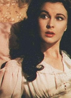 """ Vivien Leigh as Scarlett O'Hara "" Go To Movies, Great Movies, I Movie, Movie Stars, Tomorrow Is Another Day, Scarlett O'hara, Vivien Leigh, Gone With The Wind, Actors & Actresses"