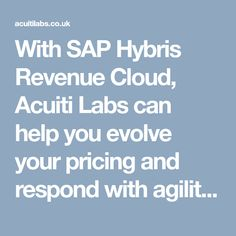 Acuiti Labs brings to you perfect SAP solution to streamline, simplify and synchronise your ordering and billing processes with an automated approach from the cloud. Labs, Clouds, Labradors, Labrador, Lab, Cloud