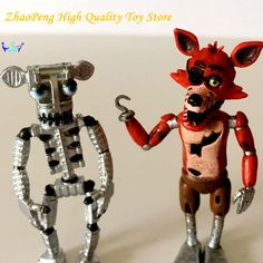 Cheap anime figure, Buy Quality pvc action figure directly from China kids toys Suppliers: 5cm Five Nights Freddy's Anime Figures FNAF Foxy Freddy Skeleton chica ballora PVC  Action Figures Collectible model kids toys