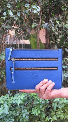 Cobalt Lizzie, Chiaroscuro, India, Pure Leather, Handbag, Bag, Workshop Made, Leather, Bags, Handmade, Artisanal, Leather Work, Leather Workshop, Fashion, Women's Fashion, Women's Accessories, Accessories, Handcrafted, Made In India, Chiaroscuro Bags - 1