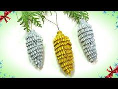 Paper Christmas Decorations, Diy Diwali Decorations, Christmas Ornament Crafts, Christmas Fabric, Christmas Toys, Festival Decorations, Holiday Crafts, Diwali Diy, Creation Deco