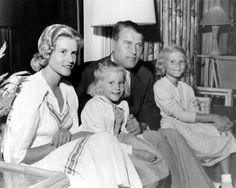 Wernher von Braun mit Familie in den 50er Jahren