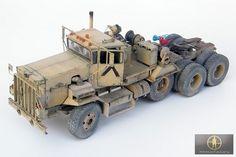 C-HET Desert Storm - - Minimanfactory - Missing-Lynx Plastic Model Kits, Plastic Models, Model Truck Kits, Free Paper Models, Wood Toys Plans, Model Tanks, Model Hobbies, Military Modelling, Army Vehicles