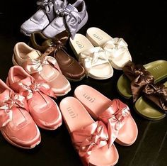Fenty Puma shoe collection that are also equally as cute and comfy as a favorite blanket.